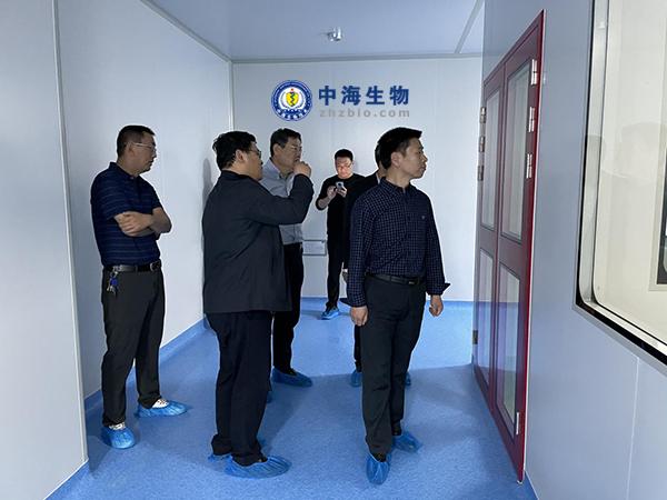 市农业农村局领导到中海参观并指导工作