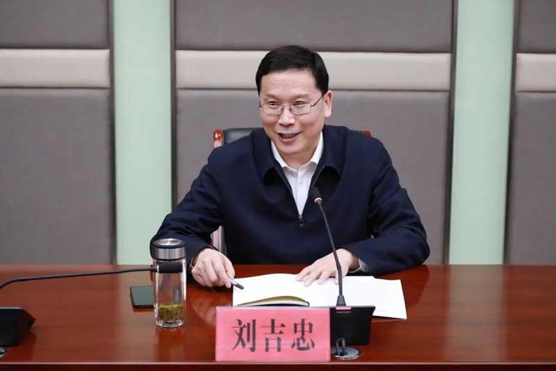 副市长刘吉忠来市中区调研新医药产业