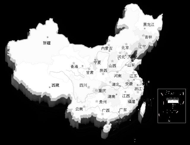 中海生物技术营销网络分布地图